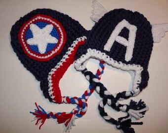 Little Mr. America earflap hats pick a style :)
