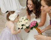 Custom made Flower Accessory that perfectly matches your wedding dress