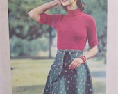 Butterick 3768 Vintage Sewing Pattern 1970s Wrap and Go Skirt Easy No Buttons No Zippers No Snaps Just Wraparound and Tie