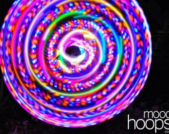 Blaze LED hoop, by Moodhoops