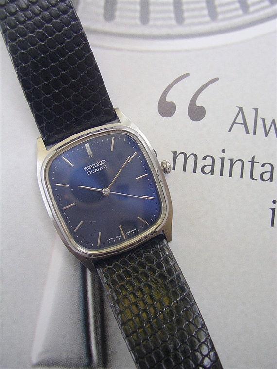 Thin Blue Line Mens Bracelet