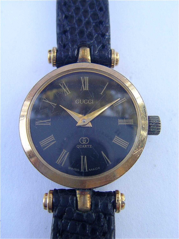 Vintage Gucci Watch Designer Ladies Watch Gucci Model 2000ql