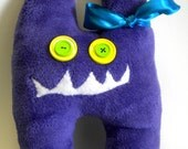 Monster Pillow Purple -Lenord