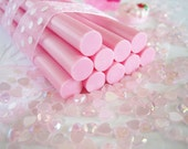 7 pcs - Pink Opaque Decoden Mini Glue Sticks (102mm) MG10001