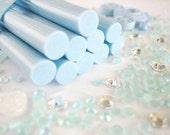 10pcs - Light Blue Decoden Mini Glue Sticks (102mm) MG10001