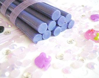 10pcs - Lavender Decoden Mini Glue Sticks (102mm) MG10001