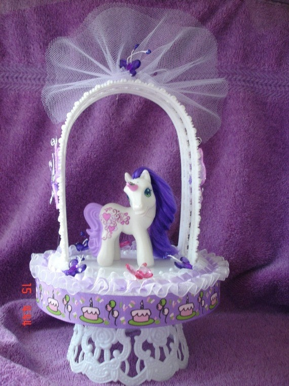 New My Little Pony Sweetie Belle Birthday Cake by CreativeToppers