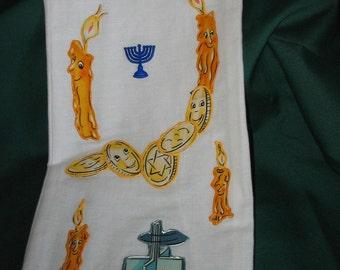 Wine or Liquor Gift Bag for Hanukkah  #143