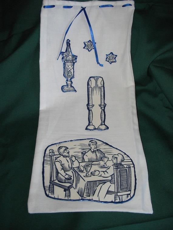 Wine or Liquor Gift Bag Family Sabbath  #144