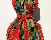 Frida Apron / Mexican Frida Deluxe Full Apron FREE SHIPPING