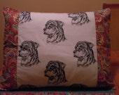 Set of 2 Rottweiler Pillow Shams