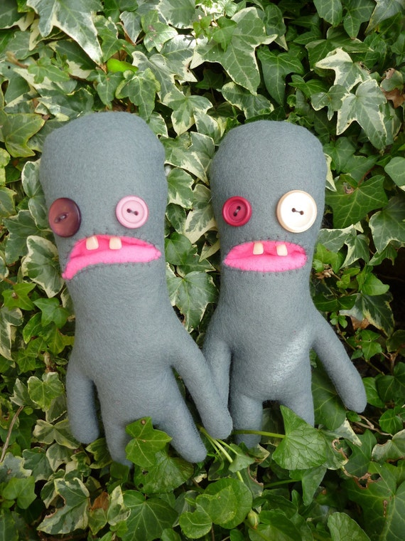 The Twins -  plush Fuggler monsters