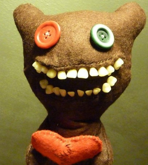 Not this Bear, but one like it - a plush Fuggler 25cm
