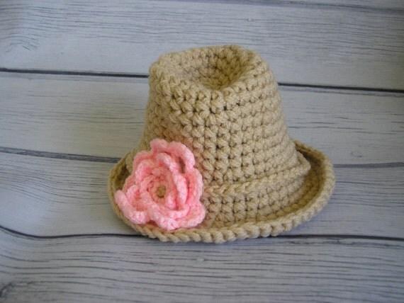 newborn photo prop, Trilby fedora cowboy hat,  photography props, newborn boy, newborn girl, newborn knit hat, newborn hat, baby hat