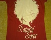 DELTA SIGMA THETA Natural Soror Shirt Size Large