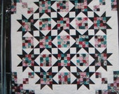 Fat Quarter Quilt Pattern - Star Quarters - American Legacy Pattern PDF