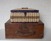From Grandma Sewing Room -- Vintage Sewing Basket