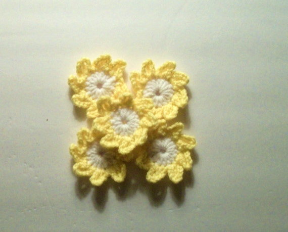 5 small flowers