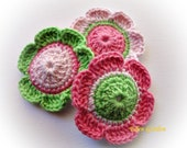 Candy  Crochet Flowers
