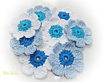 Crochet Flowers ref: X181