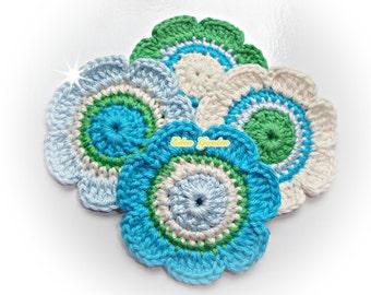 Crochet Flowers ref: X188