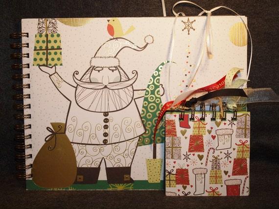 Christmas sale free mini scrapbook with 81/2x11 christmas santa scrapbook