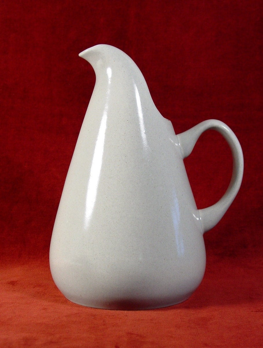 American modern pitcher in granite gray by russel wright - Russel wright pitcher ...