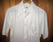 Vintage Men's Short Sleeve Buttondown Shirt