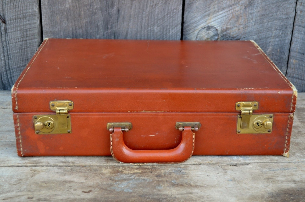 Hard Leather Suitcase | Luggage And Suitcases