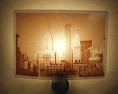 New York city  nightlight