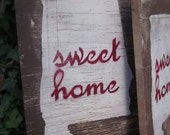 Wooden Sweet Home Alabama Sign- large