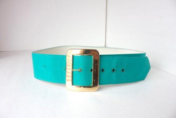 Gold bold vintage belt