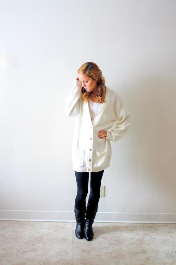 Vintage winter white sweater