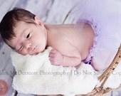 Little Layla tutu. Lavender frill preemie or newborn tutu.