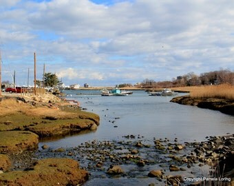 Scituate Harbor & Satuit Creek, Massachusetts 8 x 10 Limited Edition Photograph