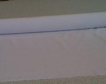 White Custom Made Aisle Runner 50 feet Fabric
