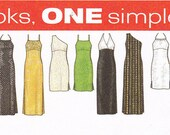 Design your own dress 9 great looks Simplicity 8015 sewing pattern Sizes 10 12 14