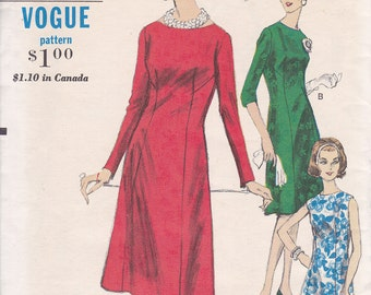Vogue 5814 Easy to Make dress pattern Size 18 Bust 38