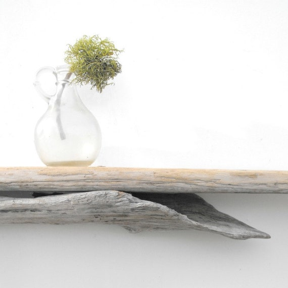 Driftwood shelf no 63 by mosswoodshop on etsy for Driftwood wall shelves
