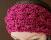 Hugs & Kisses Headwrap - Crochet Pattern - Permission to sell finished items
