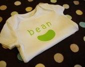 Green bean onesie