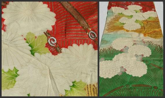 RESERVED Japanese Silk. Kimono / Furisode Sleeve