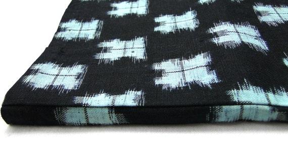 IKAT Cotton Indigo, 6 meters, Japanese Antique Kasuri - Supply Material. (Ref: CF043)