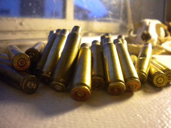 F2 Military Brass Spent Bullets