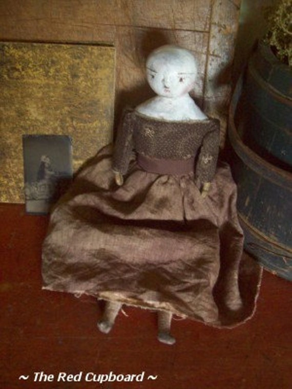 Isabella A Trunk Doll The Red Cupboard