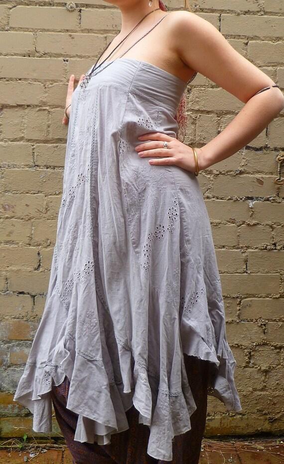 Recycled Fabric Gypsy Floaty Dress