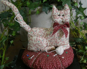 Cat Pincushion E Pattern