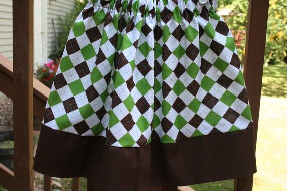 Sale 25% off- Girls Argyle Twirl Skirt-FREE Shipping