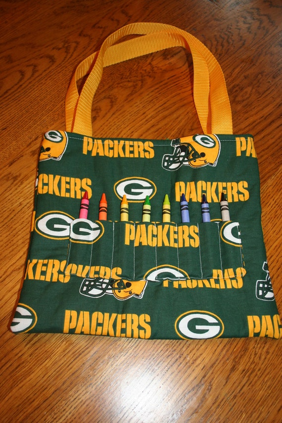 Packers Crayon Tote