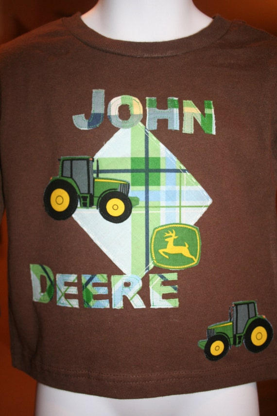 SALE 10% off-John Deere Tee-Brown-Size 3T-free shipping to the US